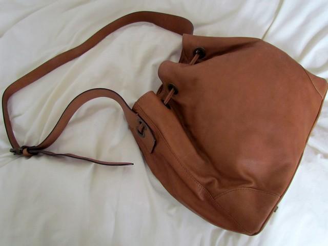 Medwinds tan bag