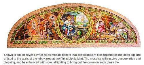 Philadelphia Mint mosaic2
