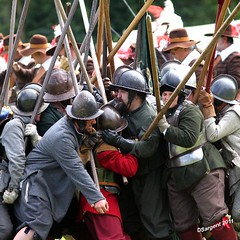 Push of Pike (day_sargent) Tags: history scotland battle battlefield reenactment selkirk livinghistory warfare scottishborders sealedknot philiphaugh