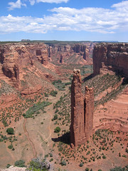 Spider Rock, Canyon de Chelly, Arizona (dbezanson) Tags: arizona monument de colorado plateau canyon national navajo reservation chelly chinle