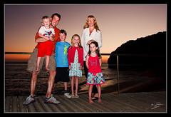 All 6 Of Us (MarkLandonPhotography) Tags: family sunset sea beach portugal kids dad mum algarve