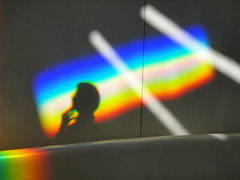 DSC03107 (hellothomas) Tags: light shadow newmexico reflection prism montezuma charlesross unitedworldcollege lightsanctuary virginiadwan labanwingert