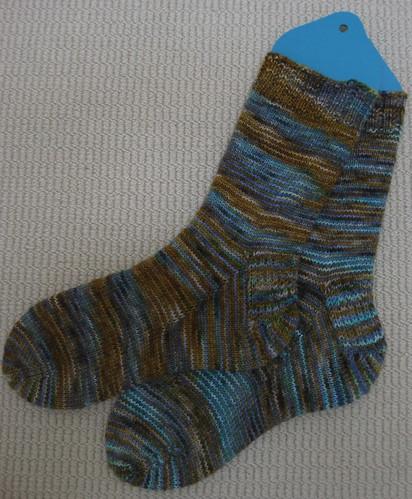 Turquoise Jeans Socks