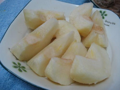 今日水果 - 水梨一顆