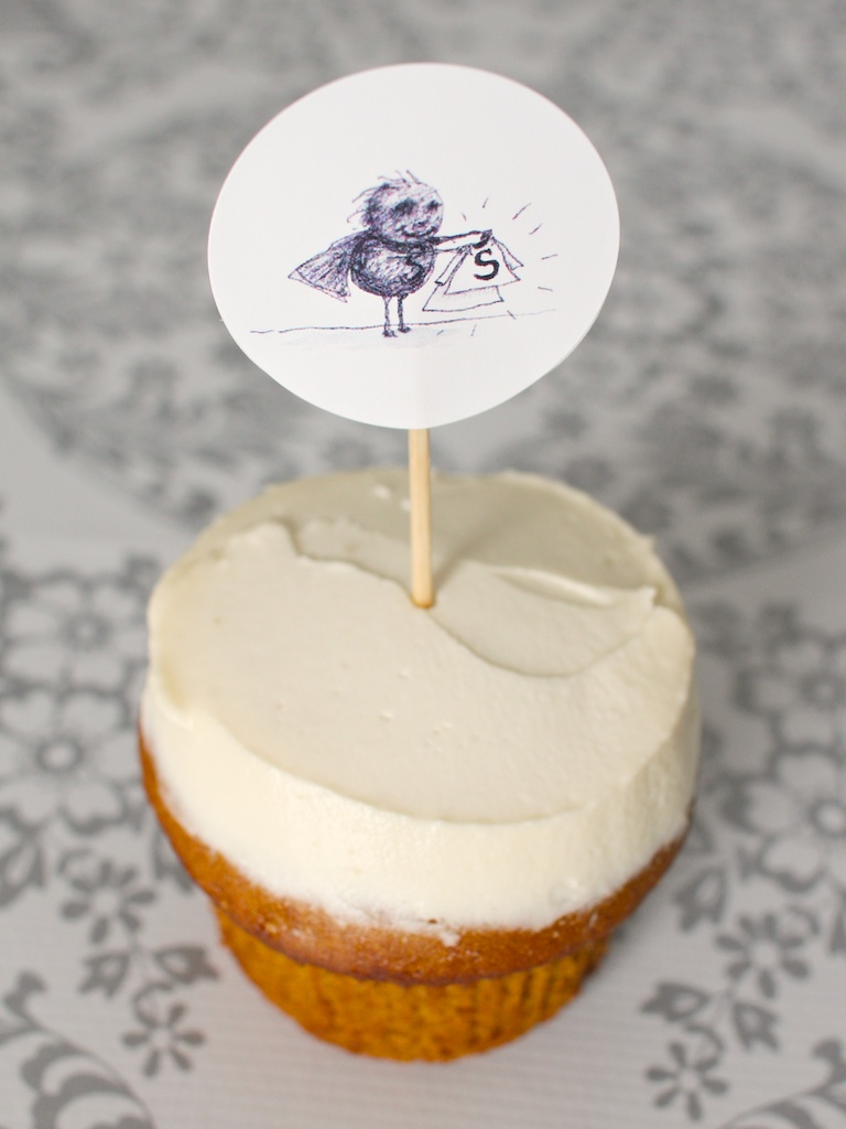 tim burton cupcake toppers 101