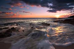 June on the West Coast (JN) Tags: ocean sunset sea sky beach water hawaii sand nikon rocks waves oahu yokohama 1735mmf28d swell dri waianae 1735mmf28 d700