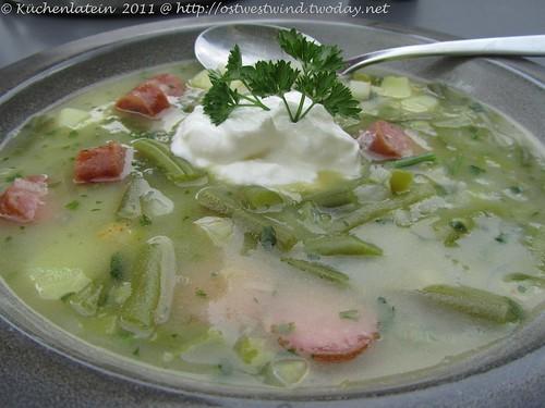 Lea Linsters Bouneschlupp  - Bohnensuppe