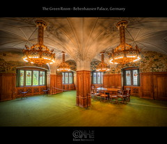 The Green Room - Bebenhausen Palace, Germany (HDR) (farbspiel) Tags: history photoshop germany logo geotagged nikon wideangle historic handheld dri deu hdr watermark hdri topaz tbingen adjust superwideangle infocus bebenhausen 10mm postprocessing badenwrttemberg ultrawideangle photomatix denoise watermarking d7000 sigma1020mmf35exdchsm schlossbebenhausen geo:lat=4856122968 geo:lon=906140327 geo:lat=4856160956 geo:lon=906110823 bebenhausenpalace