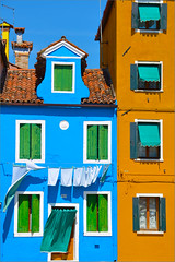tanto.... (lorytravelforever) Tags: door blue orange verde green window yellow wall angel island alone colours time blu painted some every giallo colori arancio burano muri lenzuola day tamron18270 nikond7000 spend ~dalailama gennaio2012challengewinnercontest