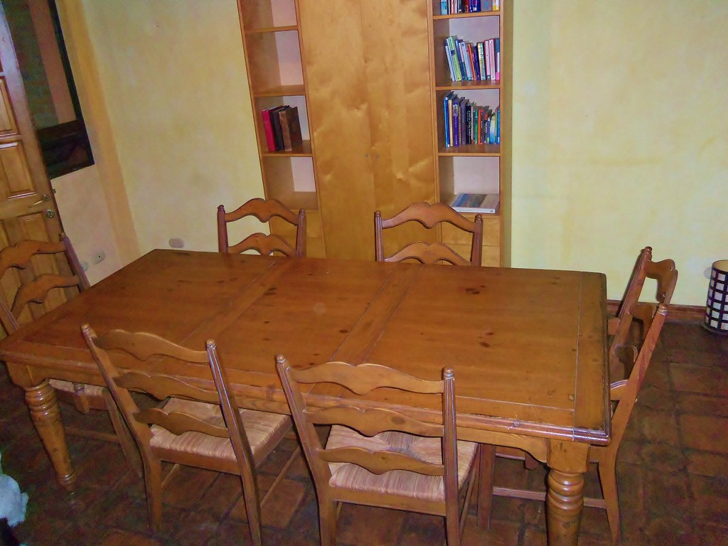 Lg. Dining Table Set w/6 chairs  $650.00   was $950.00