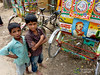 Boys and Bicycle Rickshaw - Outside Srimongal, Bangladesh (uncorneredmarket) Tags: people boys kids children rickshaw bangladesh dpn bicyclerickshaw rickshawart srimongal