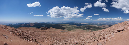 Pikes Peak Panorama From The Top (3)