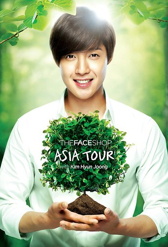 Kim Hyun Joong The Face Shop Asia Tour 2011