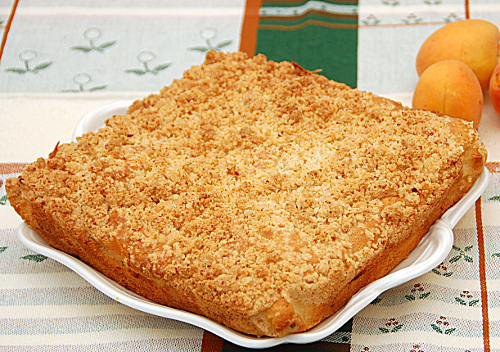 crumble alle albicocche (knam)