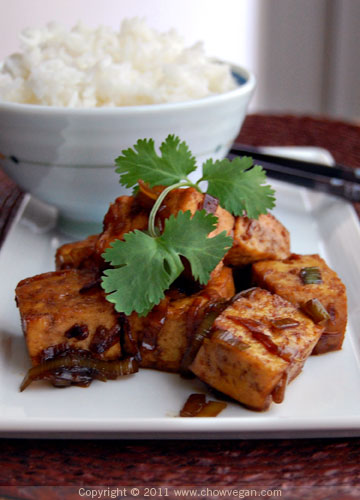 Chinese Coke-a-Cola Tofu