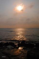 """"""" Vestida de mar ..."""" (-Ana Lía-) Tags: fotografía mar mañana sol luz reflejos nature naturaleza mardelplata argentina agua water aprehendiz amanecer costanera"""
