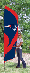 New England Patriots Tall Feather Flag
