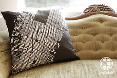 CityFabric NY Pillow