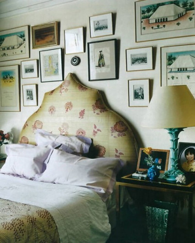 Hamish Bowles / Francois Halard / World of Interiors {bedroom} by recent settlers