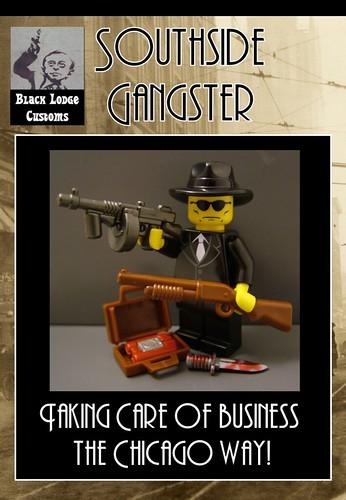 Custom minifig Black Lodge Customs at Brickfair 2011: Southside Gangster