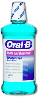 oral-b mouthwash