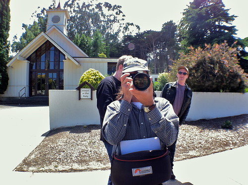 Students digitally document the Chapel of Our Lady and surrounding areas
