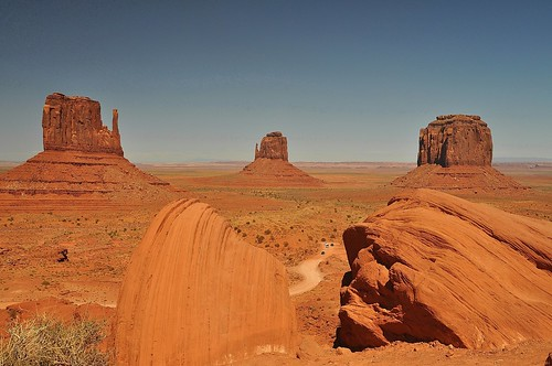 07-14-11 Monument Valley from Ansel Adam's View by roswellsgirl