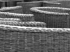 Wickerwork (markb120) Tags: bw greece armchair ellada wickerfurniture wickerwork kamena vourla