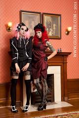 ClassworkClasswork (gloomth) Tags: white socks clothing shoes uniform gothic goth mint creepy nurse mansion legwarmers tuk shiro sundress housecoat otks gloomth