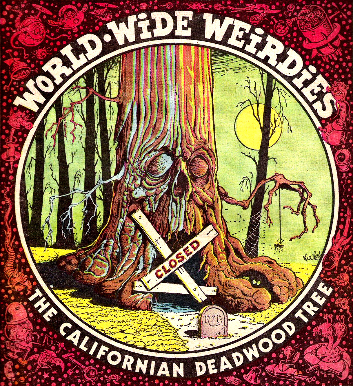 Ken Reid - World Wide Weirdies 10