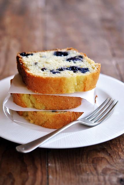 1.Cake di mirtilli
