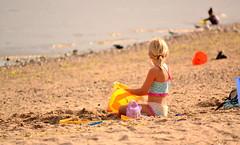 Sun-kissed (shaggyhill) Tags: beach girl beautiful yellow bucket sand child blonde ponytail summerfun pail longislandsound walnutbeach simplepleasures sandpail milfordct creativeeveryday joyfulsimplicity mortalmuse 2011199365 project365apicaday