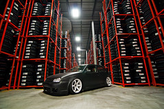 Matt Repka (Ronaldo.S) Tags: vw golf mk4 air rota grids tires warehouse nikon d90 tokina 1116mm f28