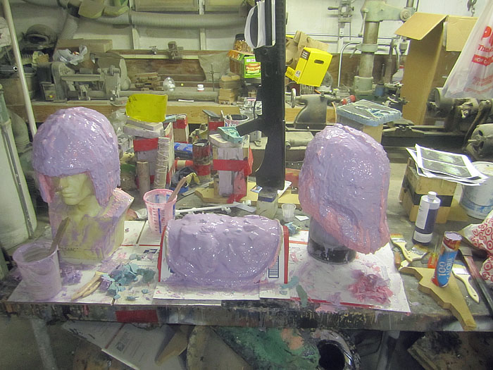 Molds in Progress