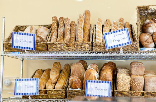 Artisan breads for sale