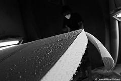 Dcoupe (3) (Laure-Helene THIBAUD) Tags: newzealand art sport cutout nose surf artist lift tail bottom rail surfing deck creation workshop rocker surfboard cutting pont waikato outline raglan fin latte shape nez making scoop forme derive atelier artiste realisation carre carene shaper nouvellezelande decoupe courbure planchedesurf shaperoom maitrebau widepoint markcamenzind