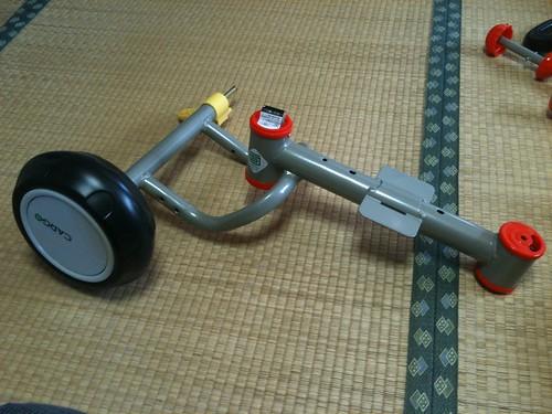 三輪車 タイヤ1