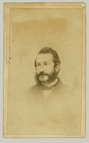 CDV man with mutton chop beard