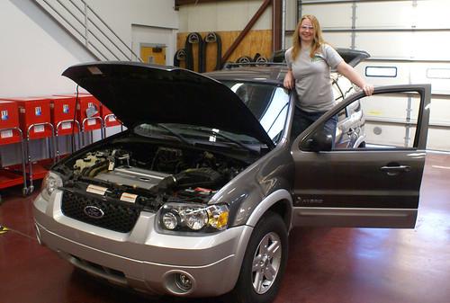 Danelle McKinney w/ Ford Hybrid