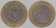 Jamaica 20 dollars