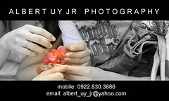 my business card (albert uy jr) Tags: wedding portrait color love canon emotion businesscards
