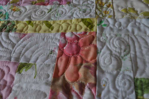 machine quilting sampler 5