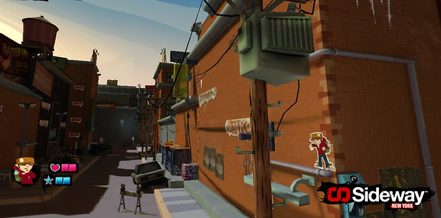 Sideway: New York for PS3 (PSN)