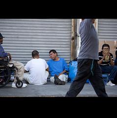 Skid Row, Los Angeles (Jovan Azdejkovic) Tags: life ca portrait people abandoned losangeles los downtown angeles wheelchair documentary row skid skidrow poorness homelessness