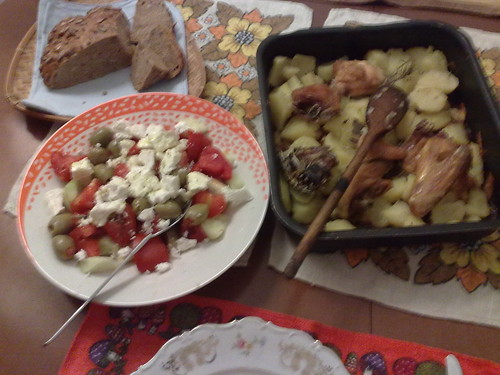 Pollo con le patatate by durishti