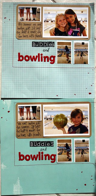 double vision, buddies and bowling