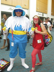 Captain Cold and The Flash cosplay at Comic-Con 2011
