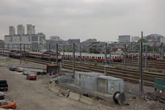 Redline Yard (Hogarth Ferguson) Tags: urban boston yard train subway metro united rail transit passenger mbta states