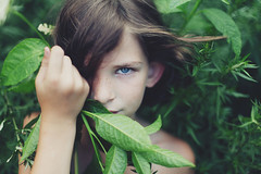 (sandy honig) Tags: portrait green nature beautiful sandy mysterious honig