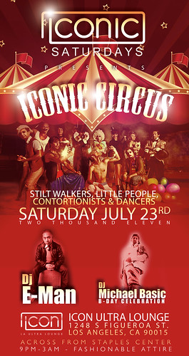 Iconic Saturdays w/ Inconic Circus @ Icon Ultra Lounge LA 7/23/11 by VVKPhoto